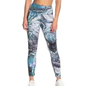 Zella Pants & Jumpsuits - ⬇️ Z By Zella High Waisted Marble Workout Leggings